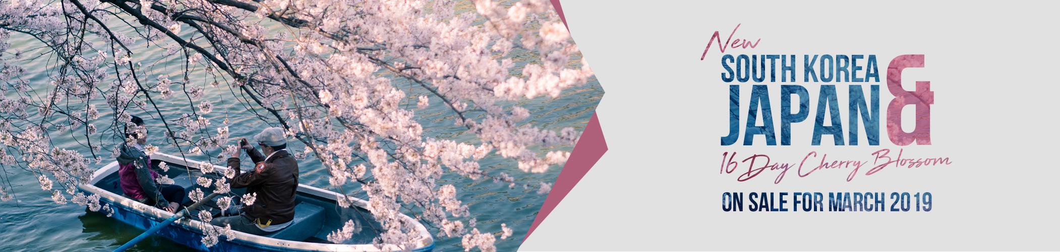 16 Day New Blossom Tour